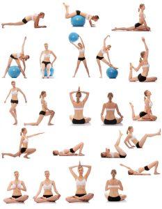 mouvements de base du yoga
