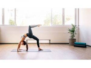 posture de pointe yoga