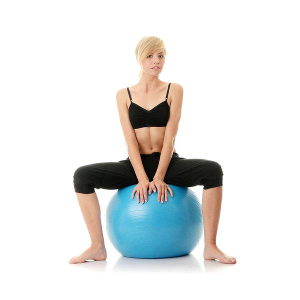 pratiquant de pilates