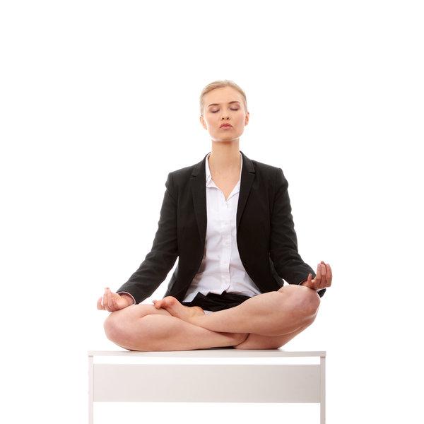 yogi en posture du lotus